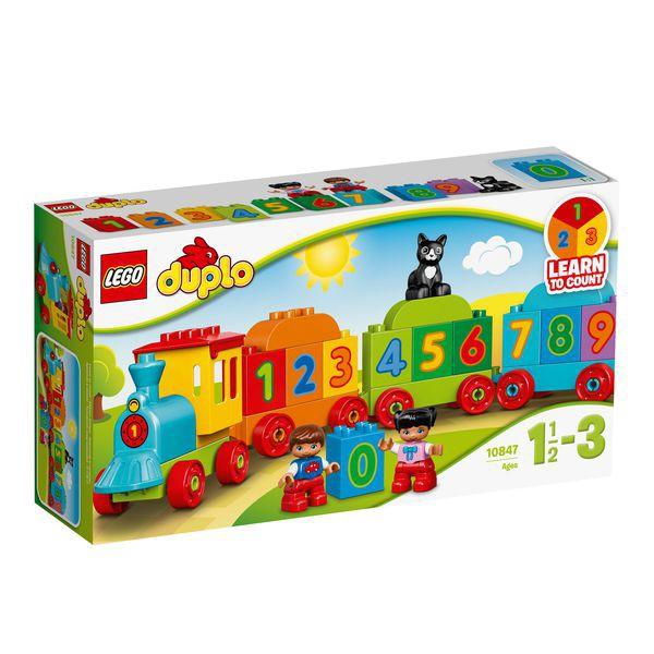 Lego Duplo 10847 Tàu lửa số học ( Đồ chơi xếp hình - Do choi xep hinh )