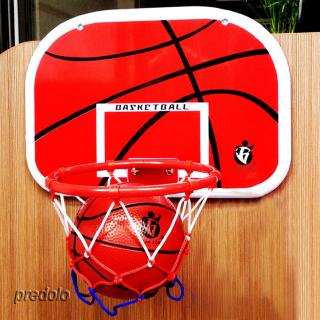 Kids Bedroom Indoor Mini Basketball Toy Includes Ball Pump Hoop Backboard A