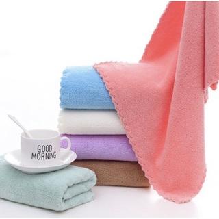 [ ĐƯỢC CHỌN MÀU ] khăn mặt hàn quốc , khăn lau mặt lông cừu mềm mịn Siêu mềm mịn thấm hút tốt (30x60cm)