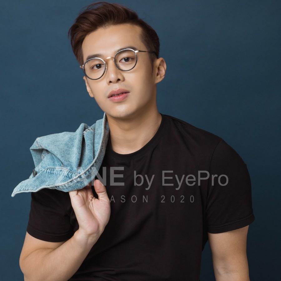 [LẮP SẴN CẬN] – Gọn kính mắt tròn , kính cận phong cách Retro Z6013