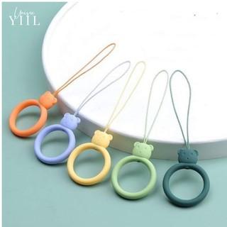 [MT8801] Nhẫn treo điện thoại hoạt tiết hoạt hình xinh xắn bằng Sillicon - Móc treo tay điện thoại thumbnail