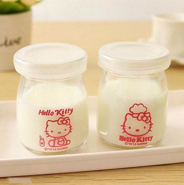 Combo 12 cốc làm sữa chua thủy tinh sạch sẽ dung tích 100ml