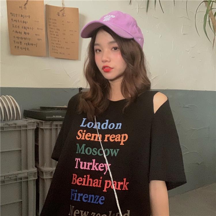 áo thun hàn quốc in chữ