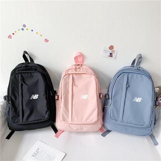 New Balance Backpack Women's Outdoor Waterproof Casual Bag Men's Sport Bag Student School Bag