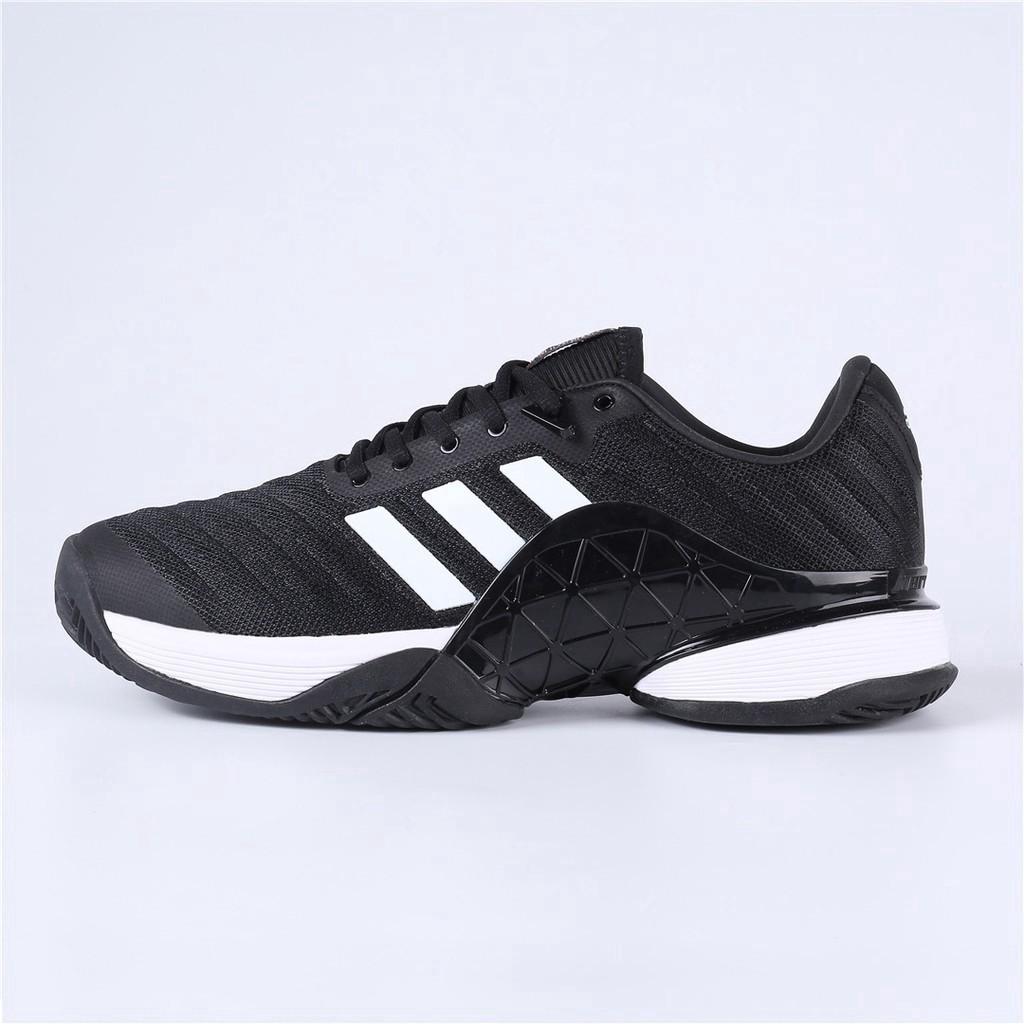 Adidas BARRICADE 2018 รองเท้าเทนนิสสีดำสีขาว