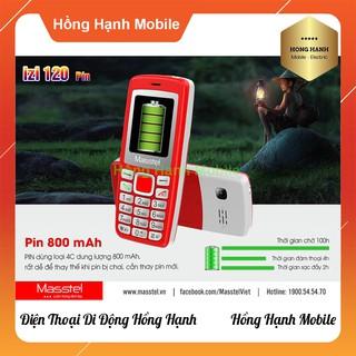 Hình ảnh Điện Thoại Masstel iZi 120 - Hàng Chính Hãng - Hồng Hạnh Mobile-7