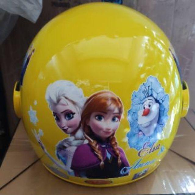 [RẺ VÔ ĐỊCH ] Mũ bảo hiểm bé trai bé gái 3_6 tuổi 3/4 có kính chính hãng ATA