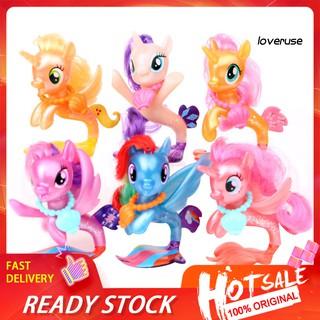 Bộ 6 Mô Hình Nhân Vật Hoạt Hình My Little Pony thumbnail
