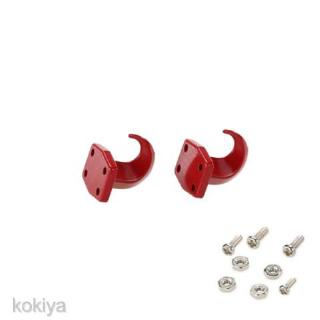 Set 1/10 Winch Tow Hooks for RC Axial SCX10 RC4WD D90 D110 TF2 Truck Model