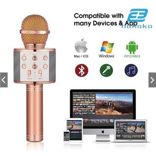 Micro Hát Karaoke Ws858 Kết Nối Bluetooth