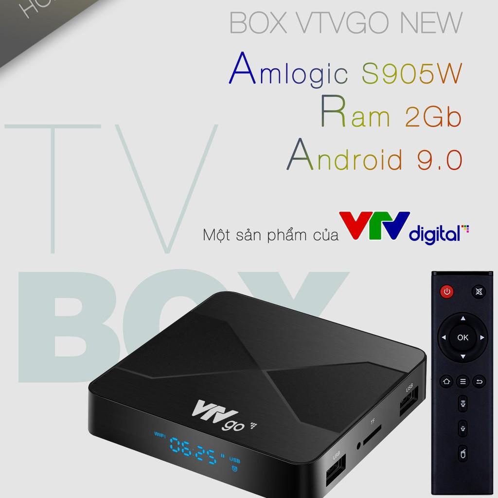 Chính hãng] Android Box VTV Go New 2021 - Xem truyền hình, giải trí qua  internet - Biến tivi thường thành Smart TV chính hãng 1,350,000đ