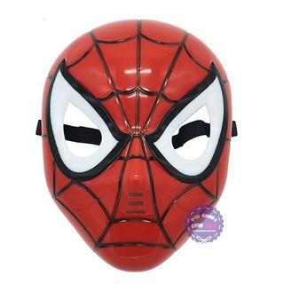 Đồ chơi mặt nạ người nhện Spider Man dùng pin có nhạc đèn rẻ bèo nè MMZ90
