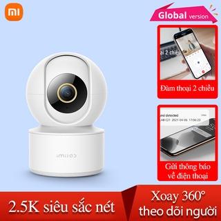 Camera ip Imilab C21 Bản Quốc Tế Xiaomi giám sát xoay QHD 2.5K, Lens F2.0, hồng ngoại 4x850nm thumbnail