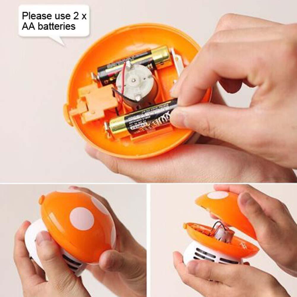 Máy Hút Bụi Mini Hình Cây Nấm Dễ Thương