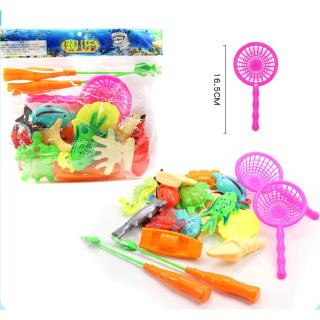 Fishing Toys Parent-child Game Tools Water Toys Early Learning Toys Fishing Set Children's Educational Toys