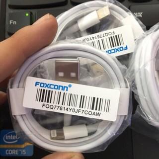 Cáp sạc iPhone iPad Airpods 1 2 3 ES39 i11 i12 FOXCONN 5V-1A- Bảo vệ thiết bị - Ổn định dòng điện 4