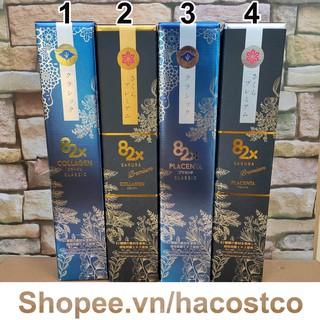 Chai 500ml - Nước uống Collagen 82x 120000 , Nhau thai heo Placenta 82x 450000 Classic , Sakura Premium - thumbnail