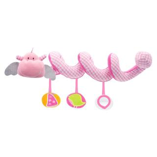 wit♣ Baby Infant Stroller Bed Crib Hanging Plush Spiral Toy Little Flying Dragon Patt