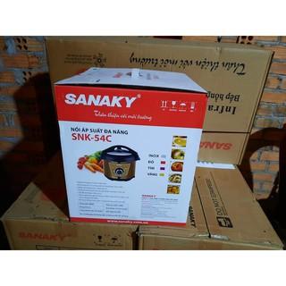 Nồi áp suất điện Sanaky SNK-54C