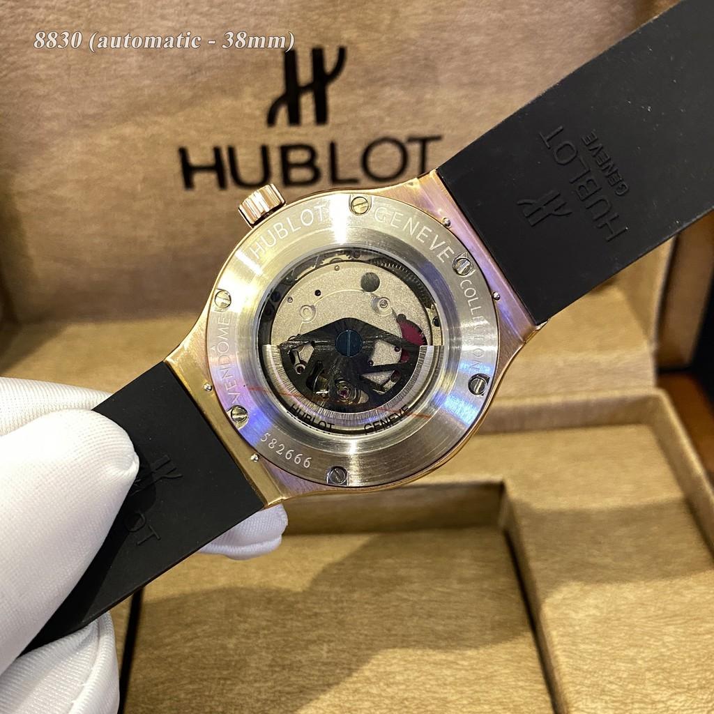Đồng hồ nam nữ HL 38mm máy cơ automatic - bảo hành 24 tháng chống nước