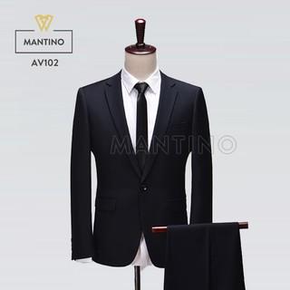 Bộ Vest Đen AV102 – MANTINO