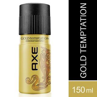 Xịt ngăn mùi toàn thân AXE Gold Temptation hương ngọt ngào chai 150ml