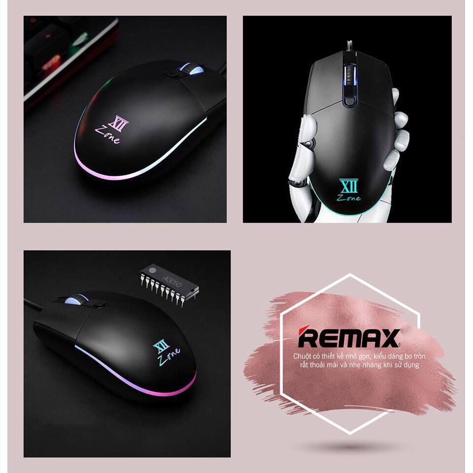 Chuột chơi game có dây Remax V3500 -Hàng phân phối chính hãng
