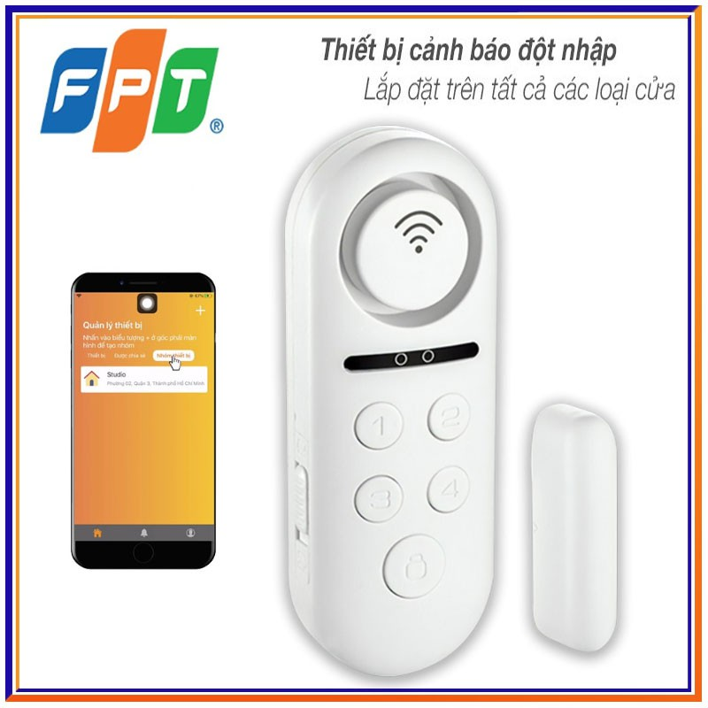 FPT iHome - cảnh báo đột nhập và chuông mở cửa tức thì trên thiết bị và trên điện thoại | Shopee Việt Nam