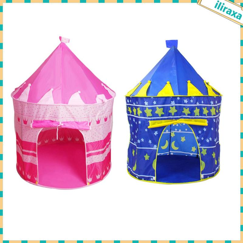 Kids Play Tent Girls Toy Princess Castle Play Tent Kids Playhouse Indoor/Outdoor
