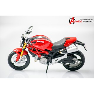 MÔ HÌNH MAISTO DUCATI MONSTER 696 RED 1:12-1 4632