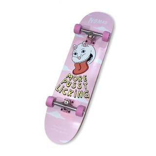 Ván Trượt Skateboard Chuyên Nghiệp Châu Âu- NOMAD PU$$Y LICKING CUSTOM COMPLETE 8.0