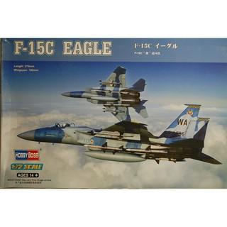 Bộ mô hình lắp ghép máy bay F-15C EAGLE tỉ lệ 1:72