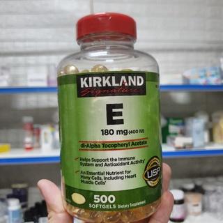 Vitamin E Kirkland 500 viên