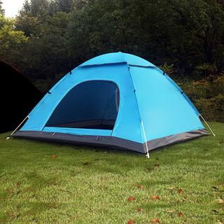 Lều Cắm Trại Lều Du Lịch Tự Bung Gấp Gọn Chống Nước 4-6 Người