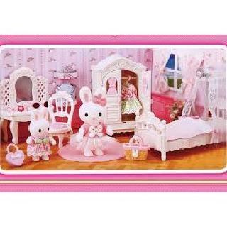 Trò chơi mô hình nhà bếp nhà động vật thỏ có nhiều đồ dùng mini nhỏ gọn, siêu đẹp, dành riêng cho bé gái trên 3 tuổi