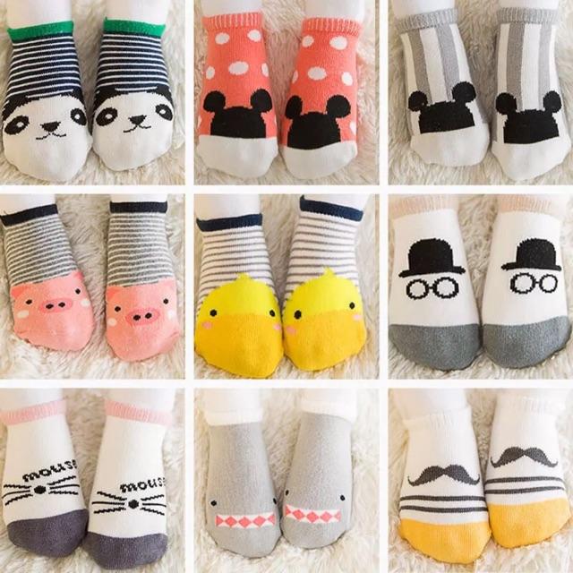 Tất chống trơn trượt Kids Socks Hàn Quốc