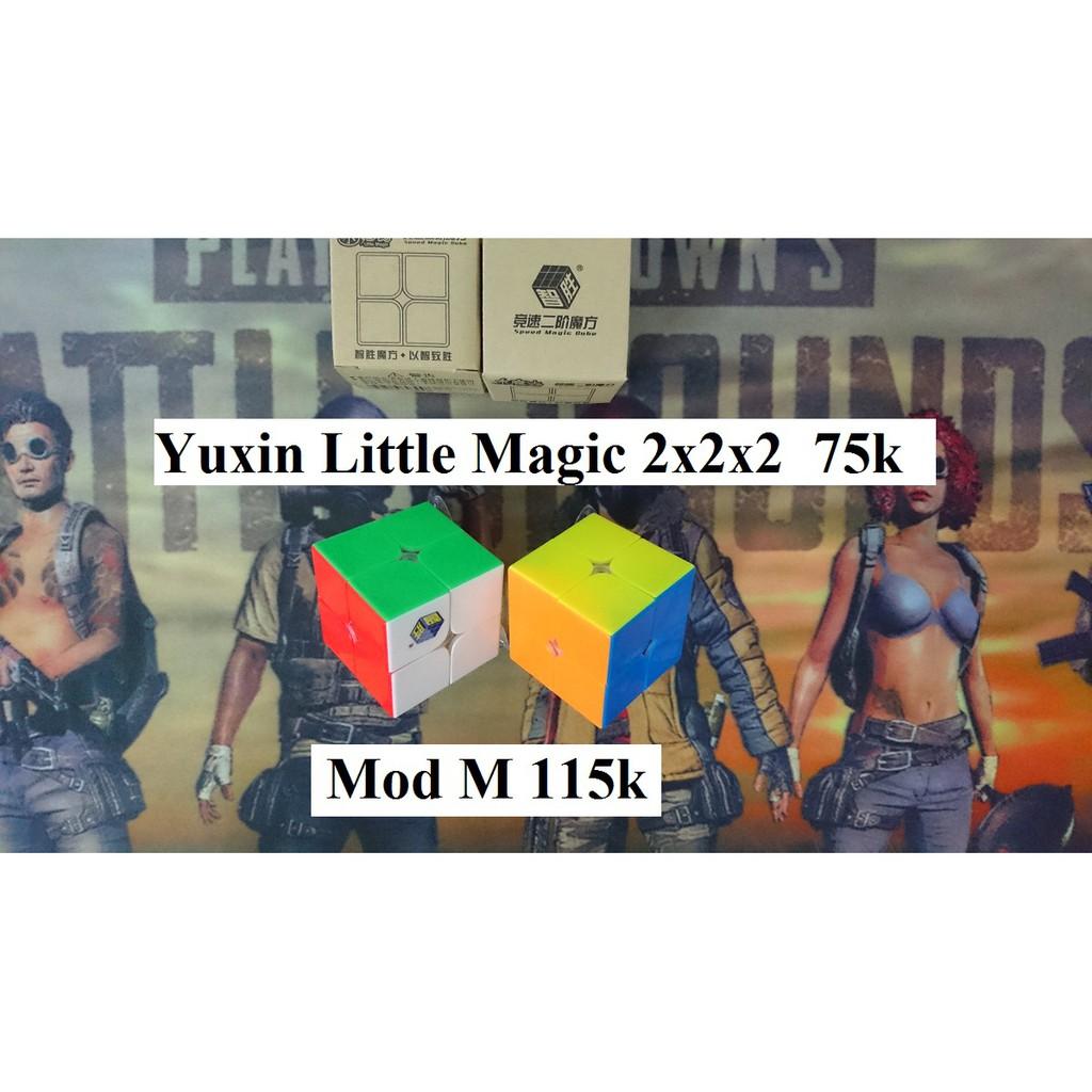 Rubik 2x2x2. Yuxin Little Magic Thường/M