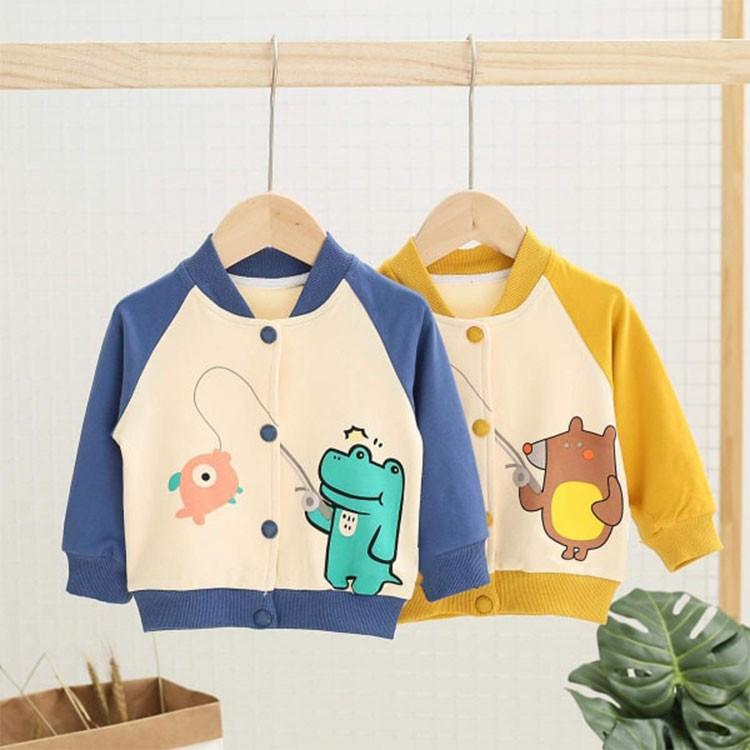 Áo khoác cho bé mẫu khủng long