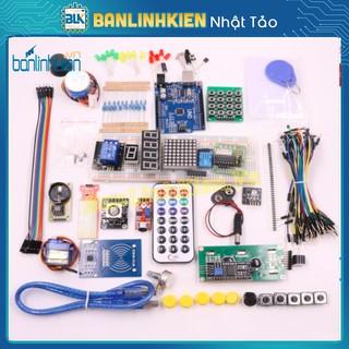Bộ Kít Học Tập Arduino UNO R3 Nâng Cao Phiên Bản Đầy Đủ Các Giao Tiếp Dành Cho HS, Sinh Viên Mới Bắt Đầu Code