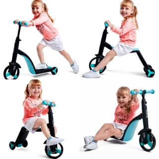 Ship rẻ- Siêu xe Nadle 3 trong 1 cho bé ( xe đẩy, xe đạp, xe chòi chân)