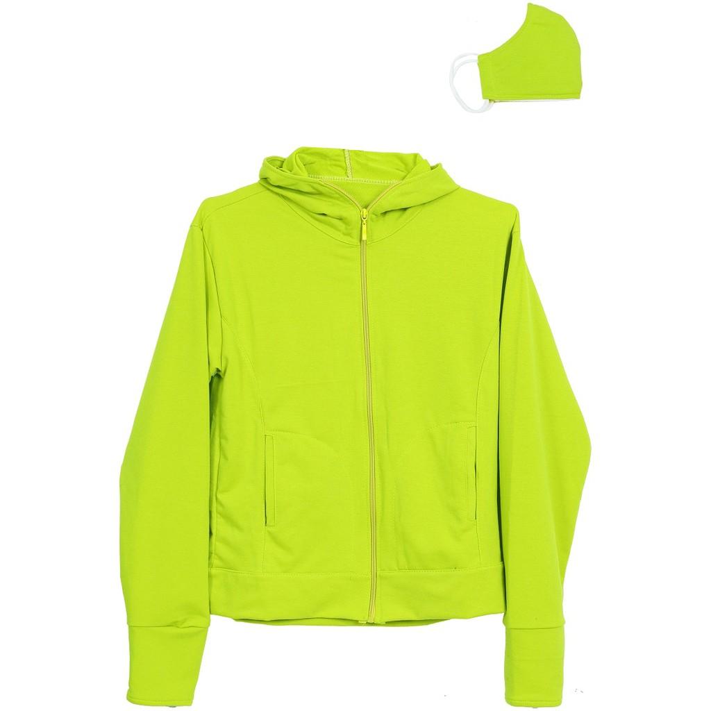 Áo khoác chống nắng nữ cotton dày dặn khẩu trang ACN 002 LTY