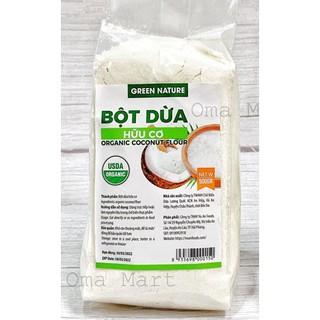 Bột dừa hữu cơ Green nature organic coconut flour 500g