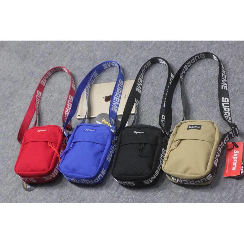 [⚡️Cao Cấp] Túi Đeo Chéo Nam Nữ Supreme Shoulder Bag 18ss
