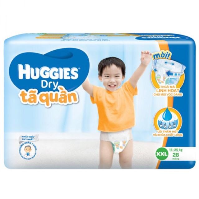 Bỉm Huggies quần lớn XXL28