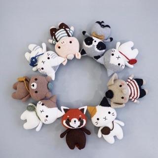 Gấu len móc handmade