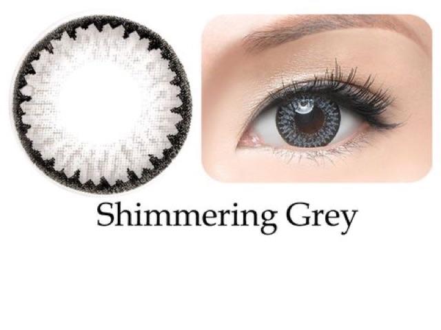 Kính áp tròng Freshkon Colors Fusion 3 tháng - Shimmering Grey