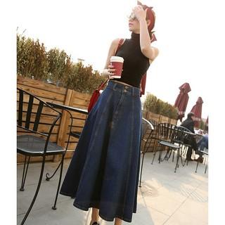 Chân váy jean dài Quãng Châu