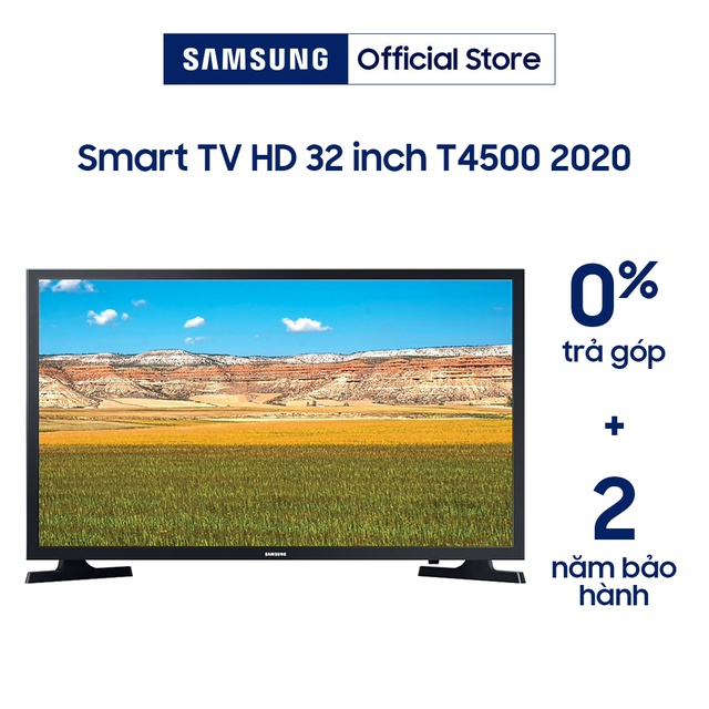 Smart Tivi LED SAMSUNG 32 Inch UA32T4500AKXXV (Model 2020 Voice Search) - Chính