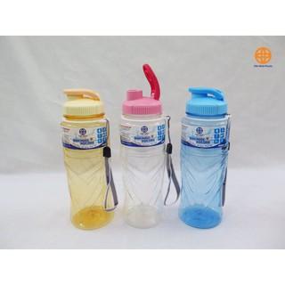 Chai nước học sinh nhựa PET 900ml – Bình nước thể thao 900ml