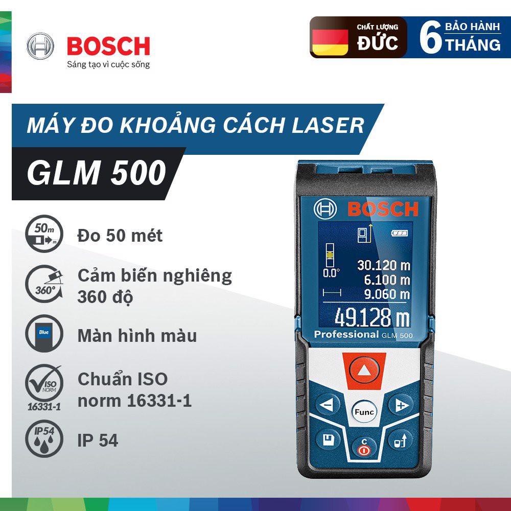 Máy đo khoảng cách laser Bosch GLM 500 - 23074995 , 2170861075 , 322_2170861075 , 3180000 , May-do-khoang-cach-laser-Bosch-GLM-500-322_2170861075 , shopee.vn , Máy đo khoảng cách laser Bosch GLM 500